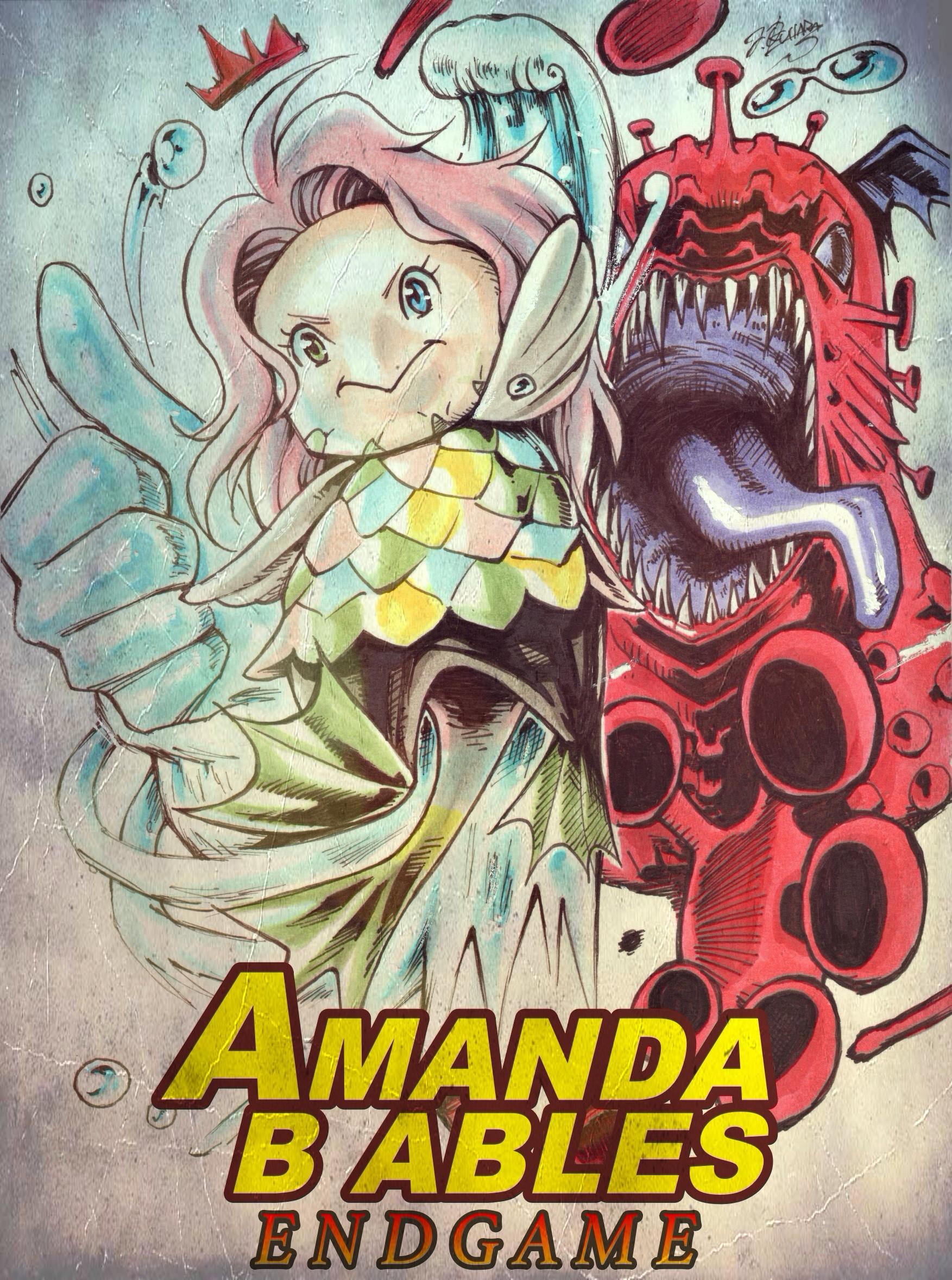 【アマビエチャレンジ】アマンダ・B・エイブルズ/エンドゲーム