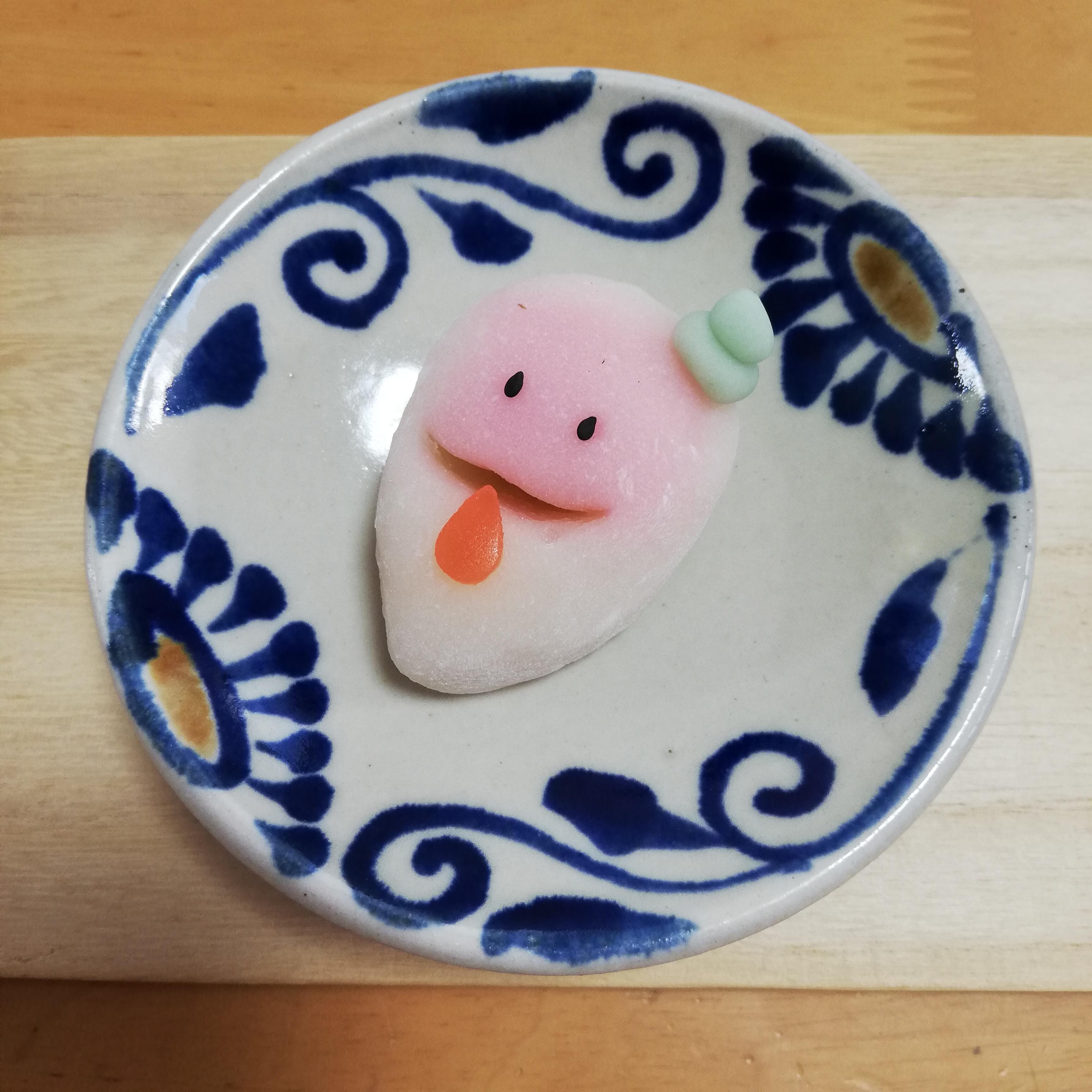 おばけ上生菓子