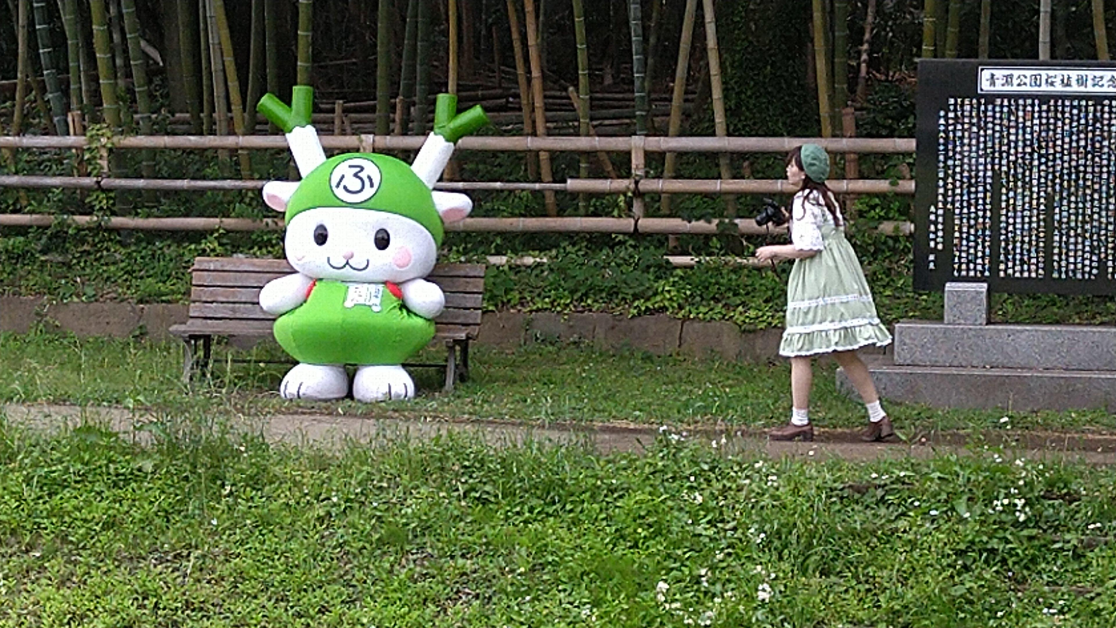 渋沢栄一体操をしていたら、ふっかちゃんに会えた!No.3