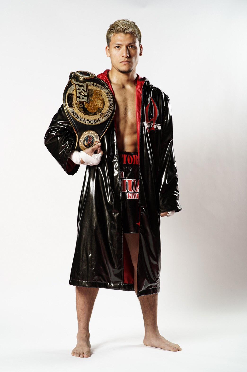 ジャパンキックボクシング協会ライト級チャンピオン 永澤サムエル聖光さん(深谷市在住)05