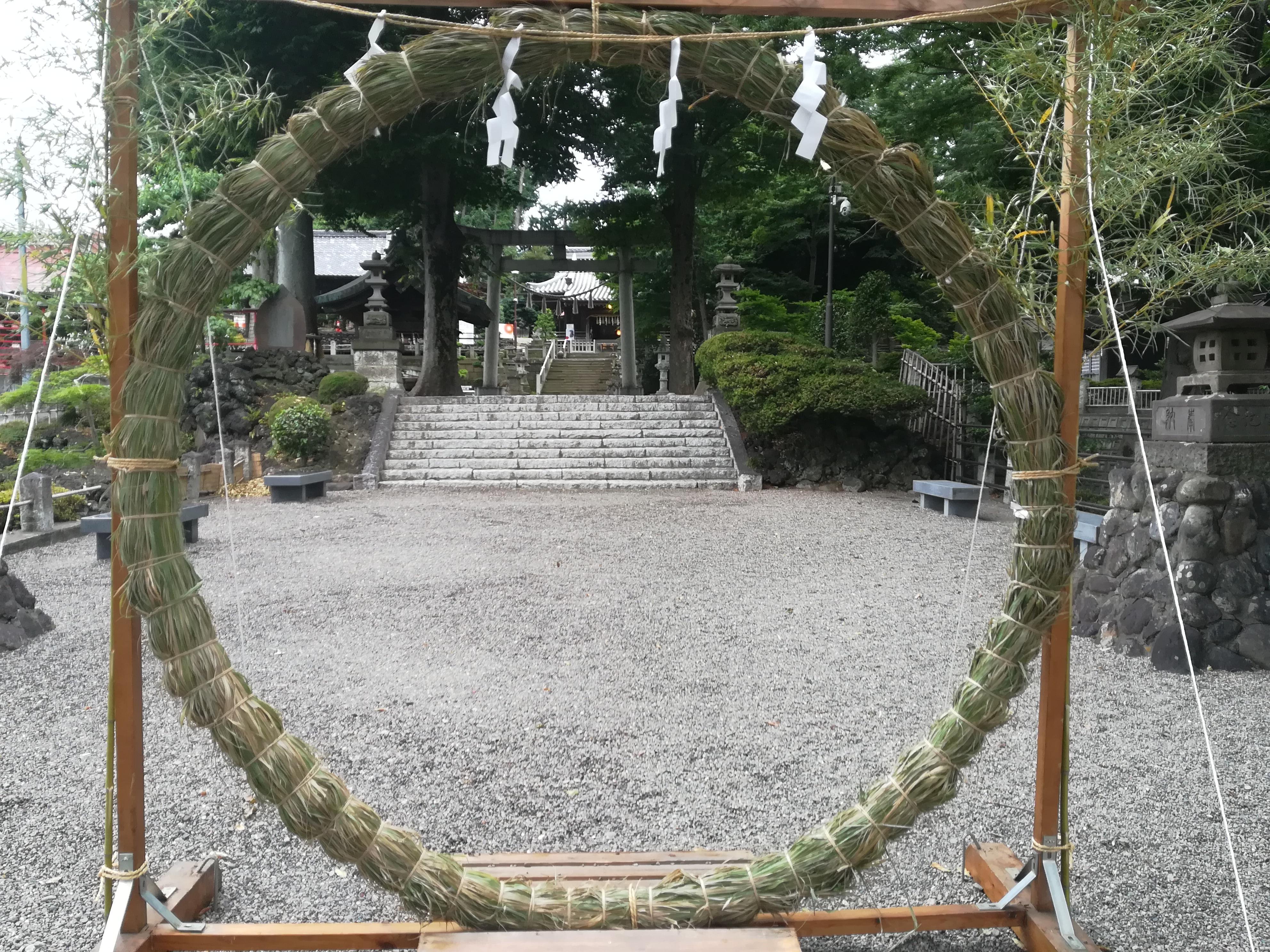 夏越の大祓(なごしのおおはらい)